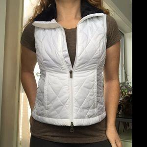 Nike vest with faux fur